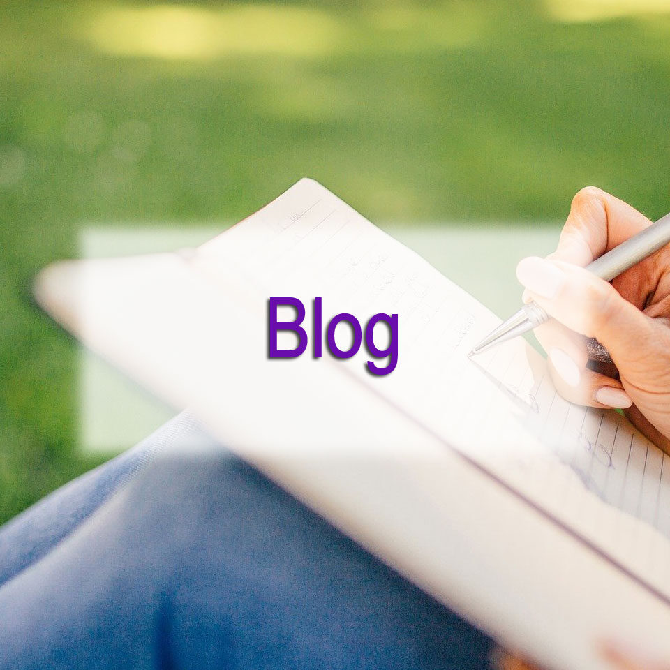 DGMEFM Blog image of person writing on a pad on their knee