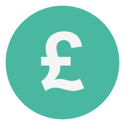 DGMEFM donate graphic of pound sign on green circle background